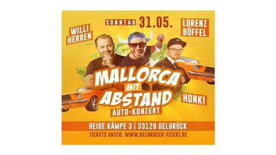 "Autokonzert ""Mallorca-Party"""